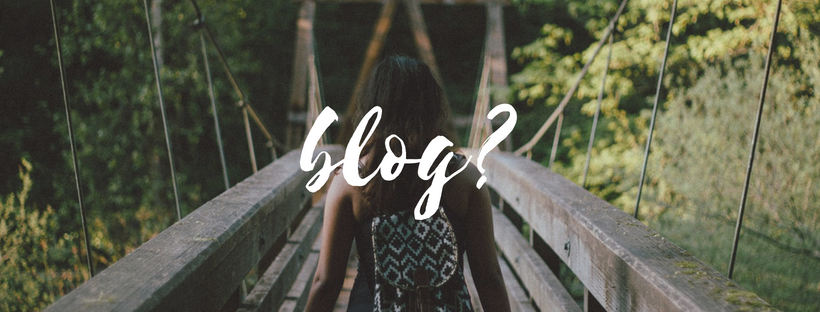 Where the word 'Blog' comesfrom.