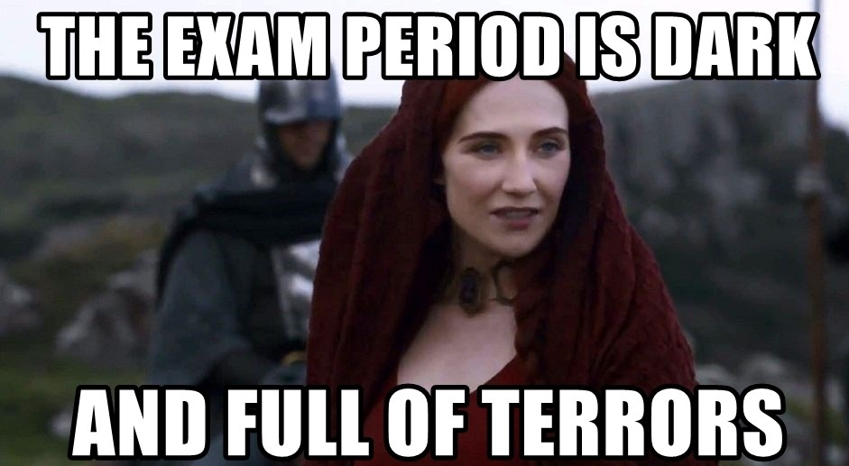 On exams – the worst part of being a student?