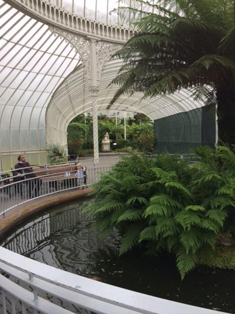 Just inside the entrance of Glasgow's Botanic Gardens