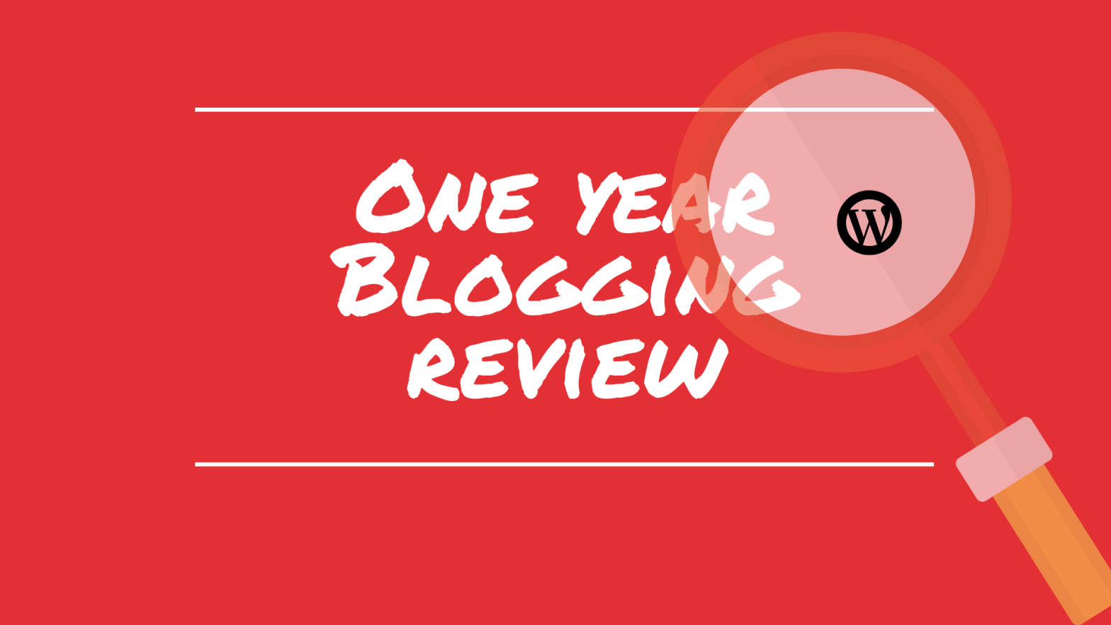 one year Blogging review